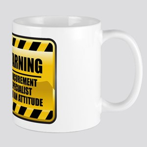 Warning Procurement Specialist Mug