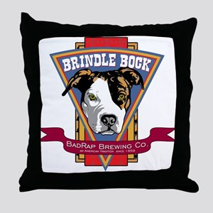 Brindle Throw Pillow