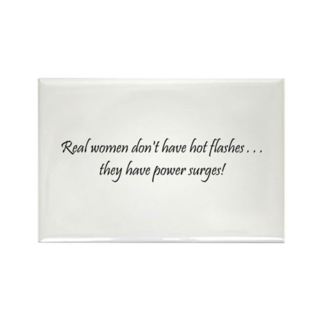 Real Women Rectangle Magnet