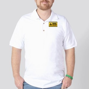 Warning Political Scientist Golf Shirt
