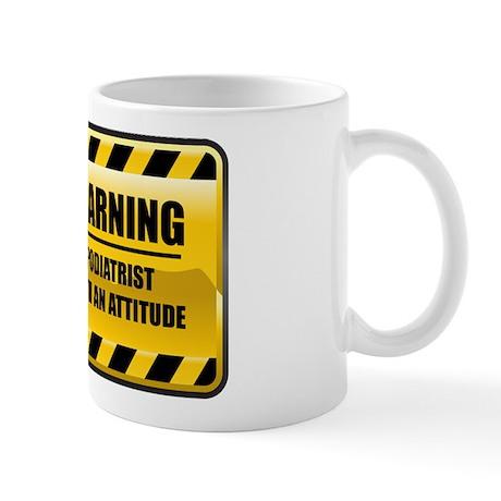 Warning Podiatrist Mug