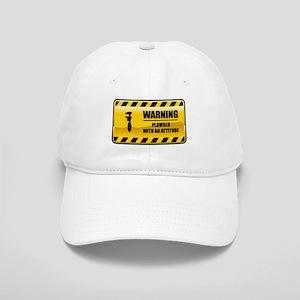 Warning Plumber Cap