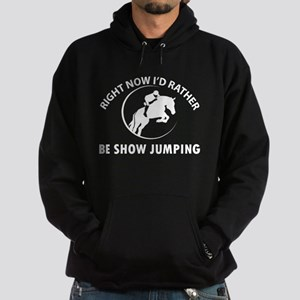 Right Now I'd Rather Be Playing Show Hoodie (dark)