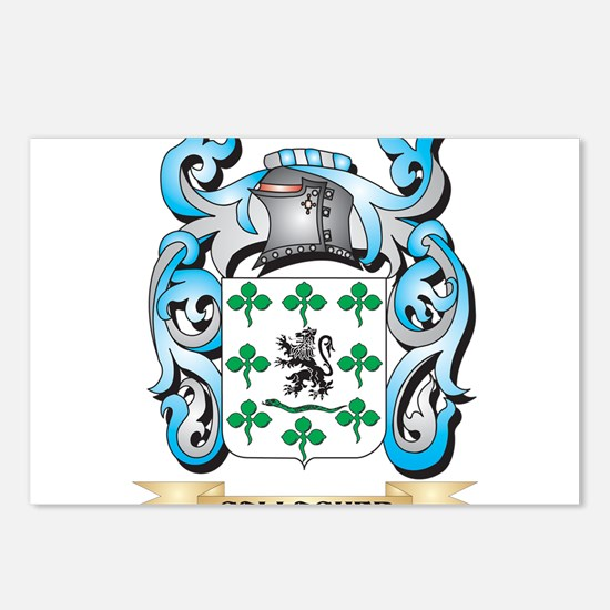 Gallagher Coat of Arms - Postcards (Package of 8)
