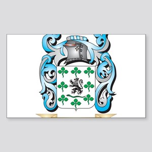 Gallagher Coat of Arms - Family Crest Sticker