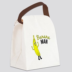 Banana Man Canvas Lunch Bag