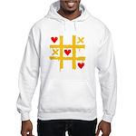 Tic Tac Toe of Love | Hooded Sweatshirt