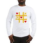 Tic Tac Toe of Love | Long Sleeve T-Shirt