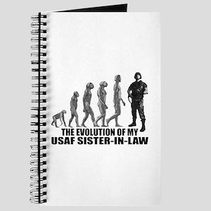 Evolution - My USAF Sis-n-Law Journal