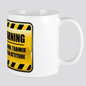 Warning Personal Trainer Mug