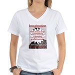 Einstein 1905 Women's V-Neck T-Shirt