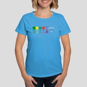 Seeing The World Women's Dark T-Shirt (4 colors)