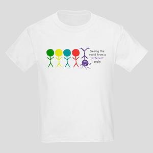 Seeing The World Kids Light T-Shirt