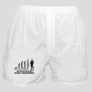 Evolution - My USAF Grndma  Boxer Shorts