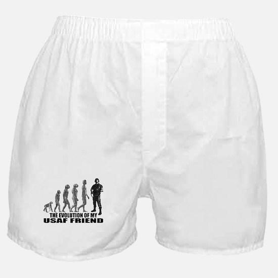 Evolution - My USAF Frnd Boxer Shorts