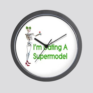 Date Supermodels Wall Clock