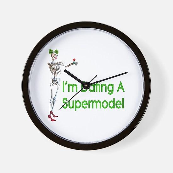 Date Supermodels Wall Clock