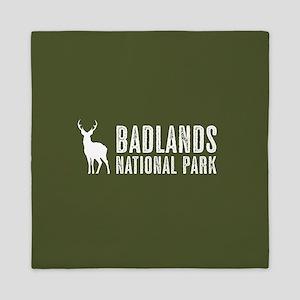 Deer: Badlands National Park, South Da Queen Duvet