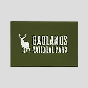 Deer: Badlands National Park, Sou Rectangle Magnet