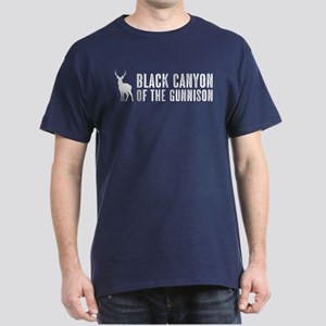 Deer: Black Canyon of the Gunnison, C Dark T-Shirt