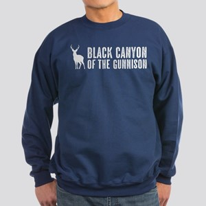 Deer: Black Canyon of the Gunnis Sweatshirt (dark)