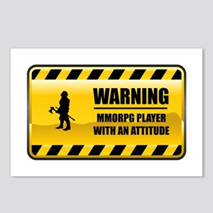 Warning MMORPG Player Postcards (Package of 8)