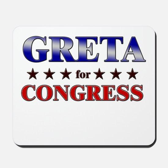 GRETA for congress Mousepad