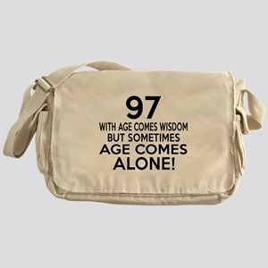 97 Awesome Birthday Designs Messenger Bag