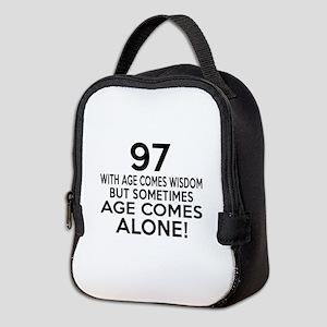 97 Awesome Birthday Designs Neoprene Lunch Bag