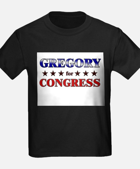 GREGORY for congress T
