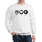 Peace Love Camel Sweatshirt