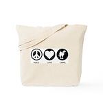 Peace Love Camel Tote Bag