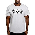 Peace Love Camel Light T-Shirt