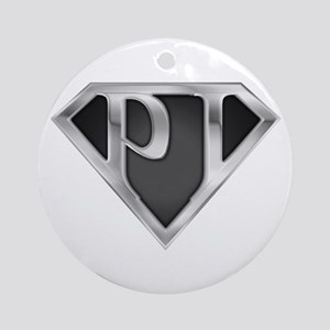 SuperP.I.(metal) Ornament (Round)