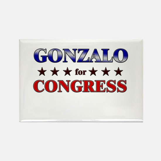 GONZALO for congress Rectangle Magnet
