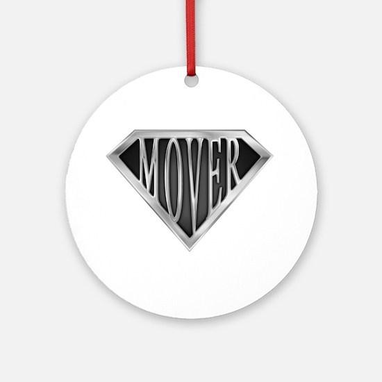 SuperMover(metal) Ornament (Round)