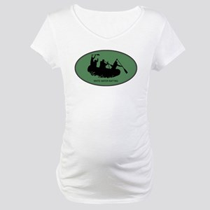 White Water Rafting (euro-gre Maternity T-Shirt