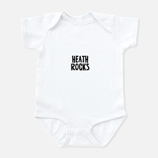Heath Rocks Infant Bodysuit