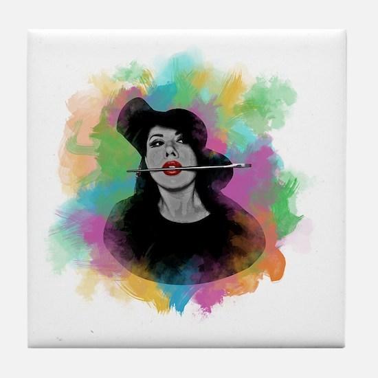 Cute Beatriz Tile Coaster