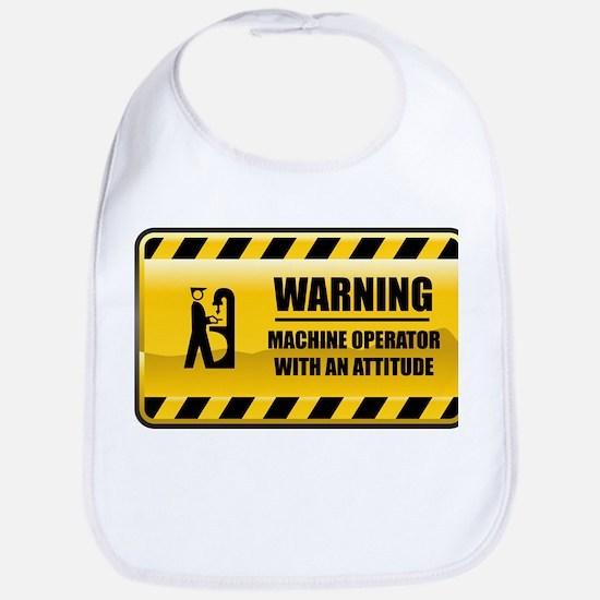 Warning Machine Operator Bib
