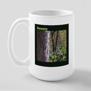 Serenity_Trail-Walk Large Mug