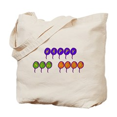 New Years Balloons Tote Bag