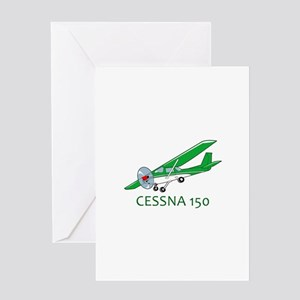 Cessna One Fifty Greeting Cards