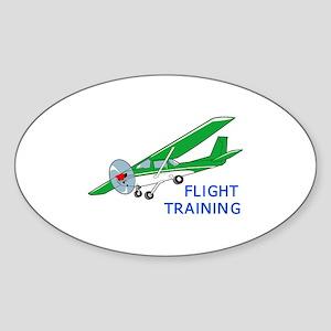 Flight Training Sticker