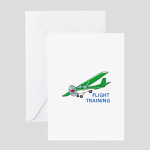 Flight Training Greeting Cards