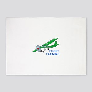 Flight Training 5'x7'Area Rug