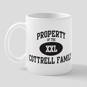 Property of Cottrell Family Mug