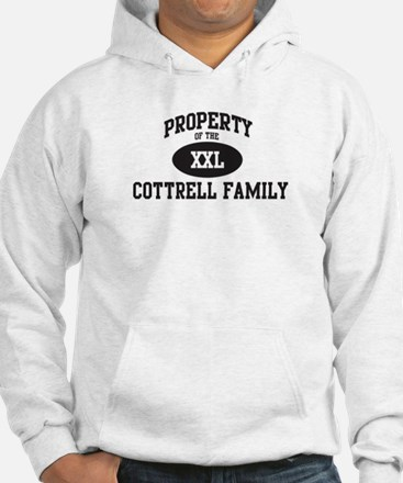 Property of Cottrell Family Hoodie