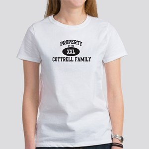 Property of Cottrell Family Women's T-Shirt