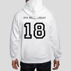 18 Hooded Sweatshirt